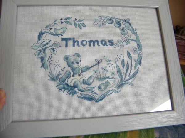 Tableau de naissance Thomas