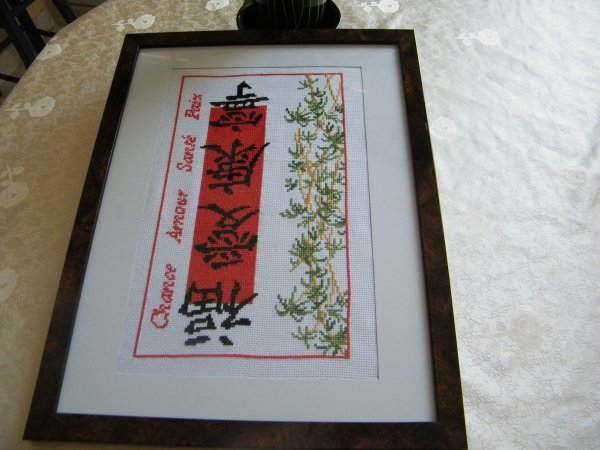 Tableau d'inspiration chinoise