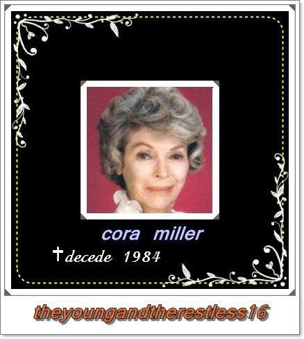 Mère de Victor Newman ► Cora Miller   # к∂σ ρσΰя ℓεs ƒαŋs #