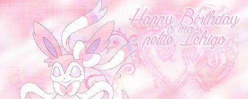 ♥ HAPPY BIRTHDAY ICHIGO-CHAAAAAN ♥