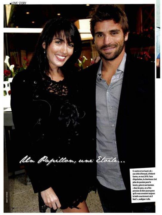 Nolwenn et Arnaud Clément ! un beau couple