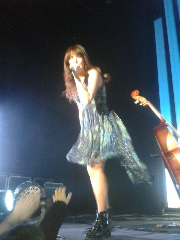 concert à Brest Penfeld le 30 janvier 2014 (prises avec mon portable)