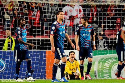 Benfica-Olympique Lyonnais 4-3 (League des champions).