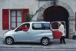 Essai de la Toyota Yaris Verso Linea Luna du 2 novembre 1999