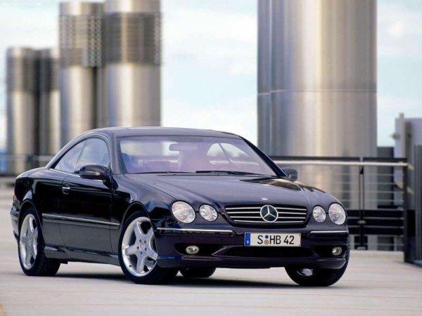 Essai de la Mercedes CL 55 AMG du 23 novembre 1999