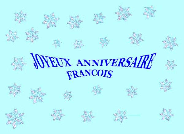 1er Janvier 2013 Pour Tes 26 Ans Joyeux Anniversaire Francois