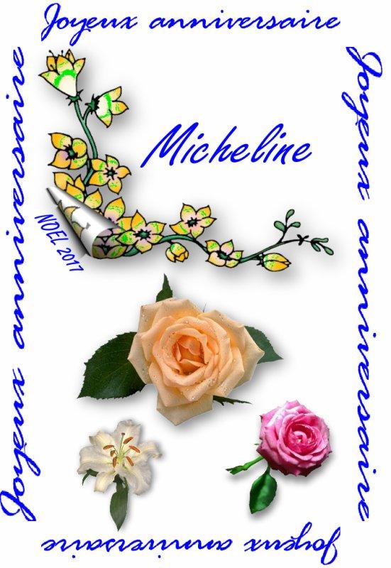 ...NOEL  2017  anniversaire de Micheline  ....