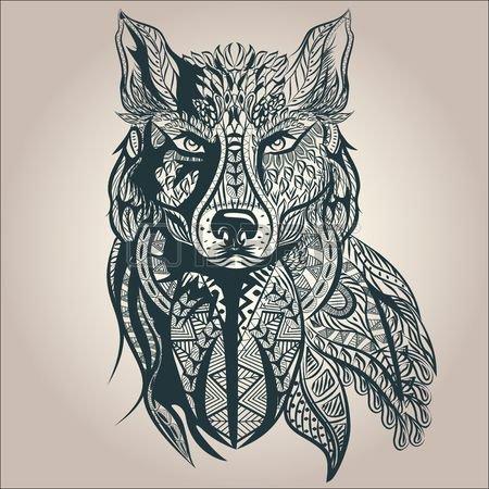 Aux loups ne faut la rage apprendre. ...