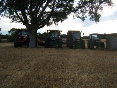 Ligne de tracteur