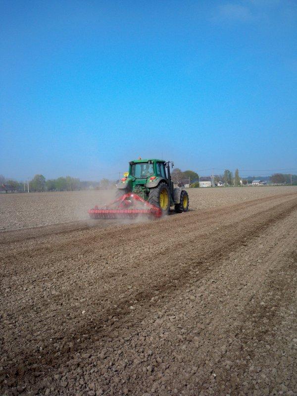 Préparation des semis