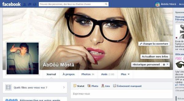 Mon profil De Fb <3 *.*