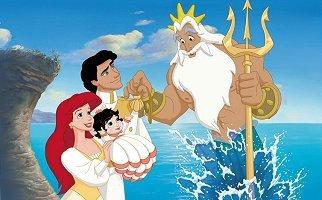 "Le roi Triton ou ""photo de famille"""