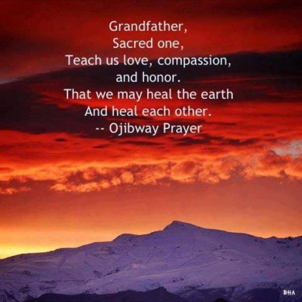 sagesse, respect et amour