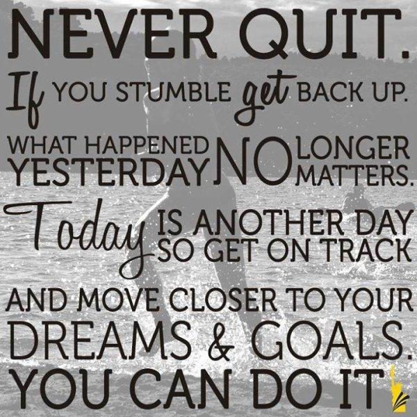 n'abandonne jamais les rêves qui sommeillent en toi