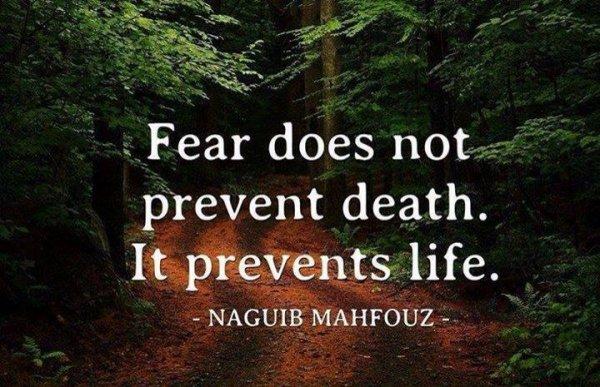 La peur