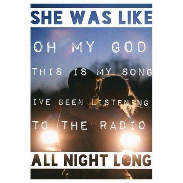 ma chanson à la radio