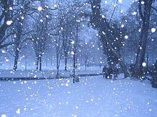neige - les petits bonheurs simples de la vie