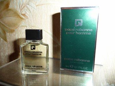 Paco Rabanne pour homme récente petite boite