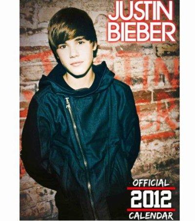 Justin Bieber : Il sort un calendrier pour 2012 :D