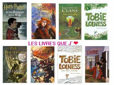 les meilleurs livres du monde !!!