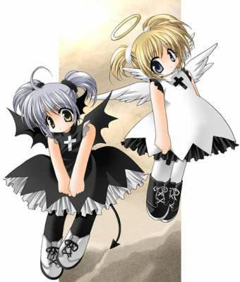 angellle  ou démonne