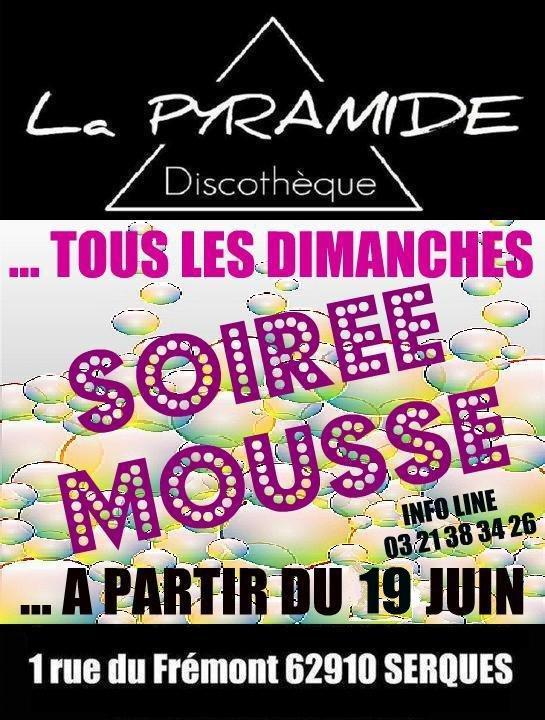 C'EST PARTI POUR LES SOIREES MOUSSE TOUS LES DIMANCHES D'ETE DANS VOTRE CLUB !!!!!!!!!!!!!