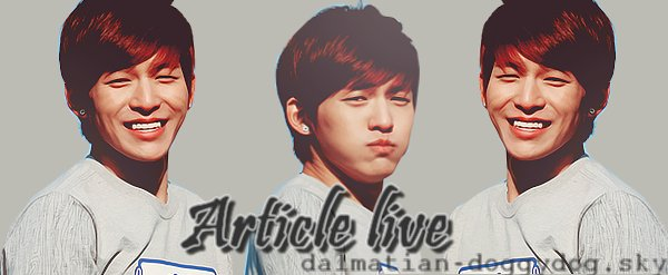 ¤_¤ Article perfomence!¤_¤