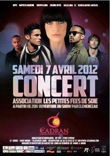 """Concert pour l'association """"Les Petites Fées De Soie"""""""