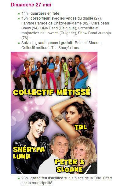 Concert Dimanche 27 Mai à Alizay