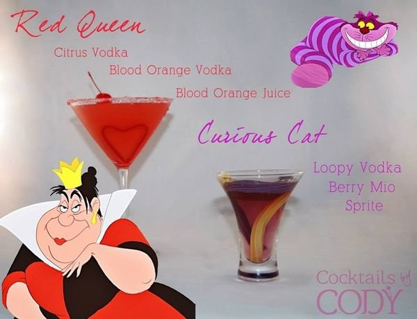 idée de cocktails disney.