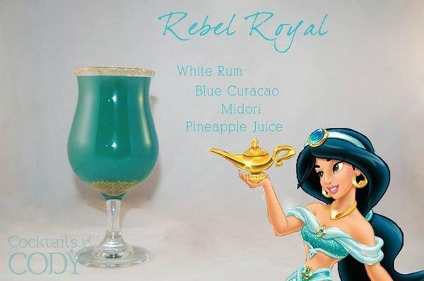 idée de cocktails disney.