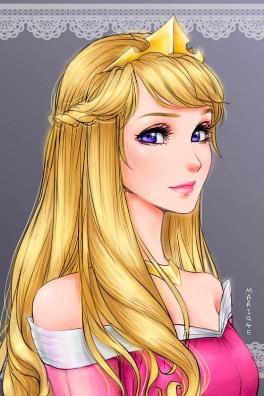 Portraits Princesse  Disney