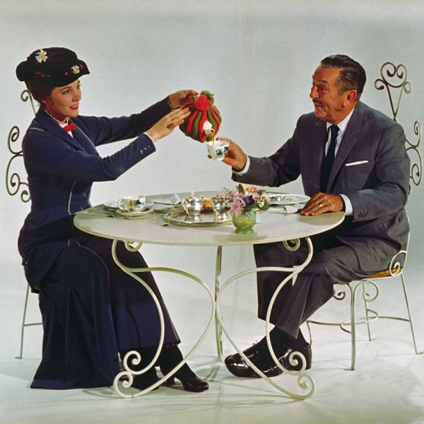 mary poppins avec monsieur walt disney
