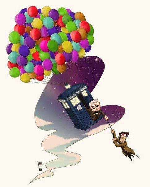 le monde Disney mélangé a la série doctor who