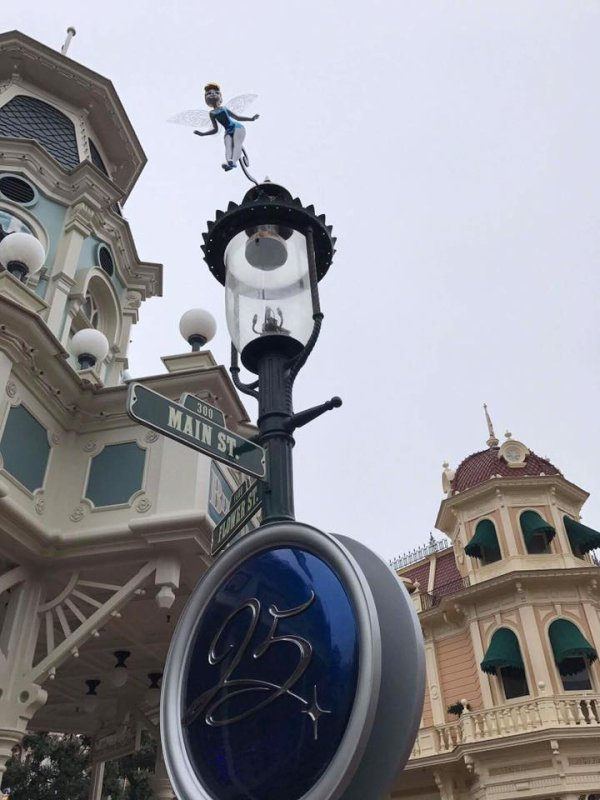Voilà les nouveaux décorés des 25 ans de Disney