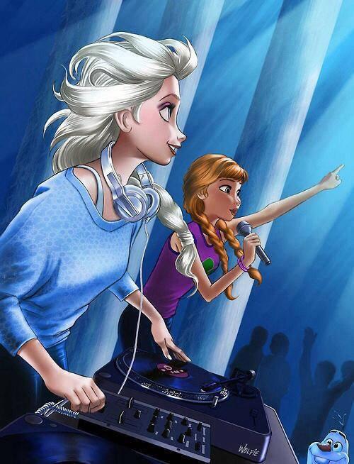 les 2 soeur en dj et chanteuse