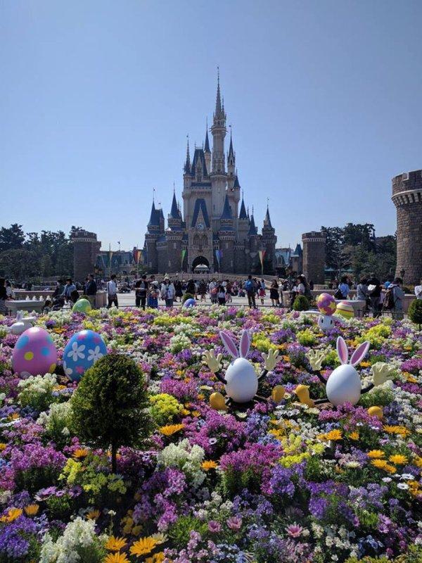déco pâque Disney