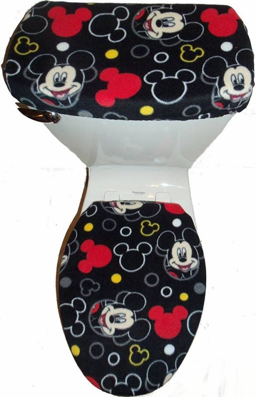 les toilettes de Mickey mouse