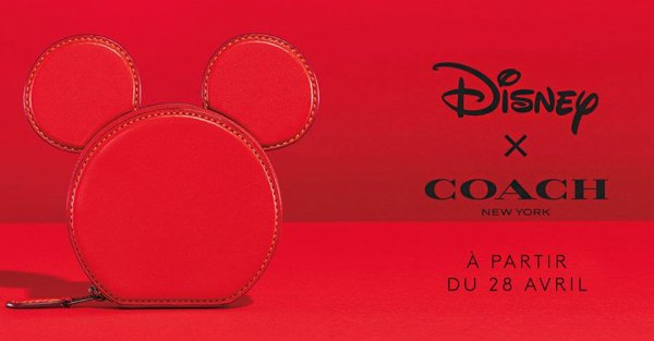 """La collection """"Coach X Disney"""" est arrivée à La Vallee Village Outlet, Paris avec des sacs en série limitée"""