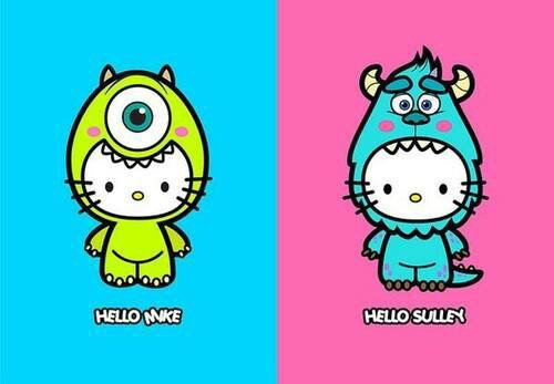 hello kitty version Disney