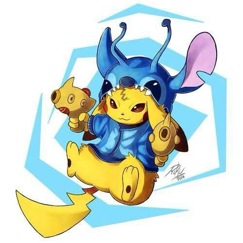 le monde Disney mélangé au Pokemon