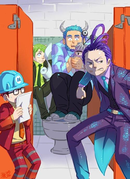 monstre et compagnie en mode manga