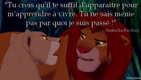 le roi lion citation