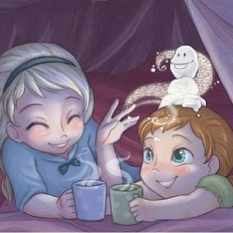 ana et Elsa enfants