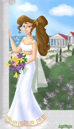 quelle son belle en robe de marier :)