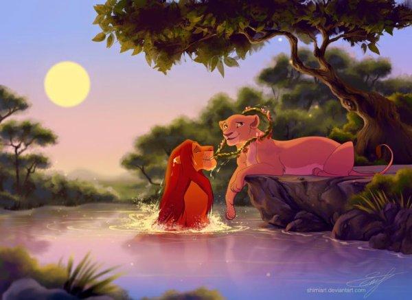 l'amour brille sous les étoiles :)