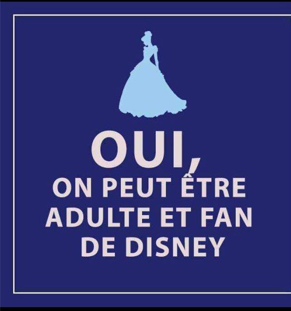 et oui adulte et fan de Disney et fier  ;)