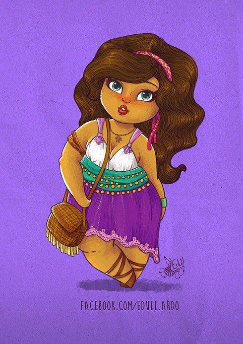 comment trouvez vous nos princesse Disney avec des forme ?