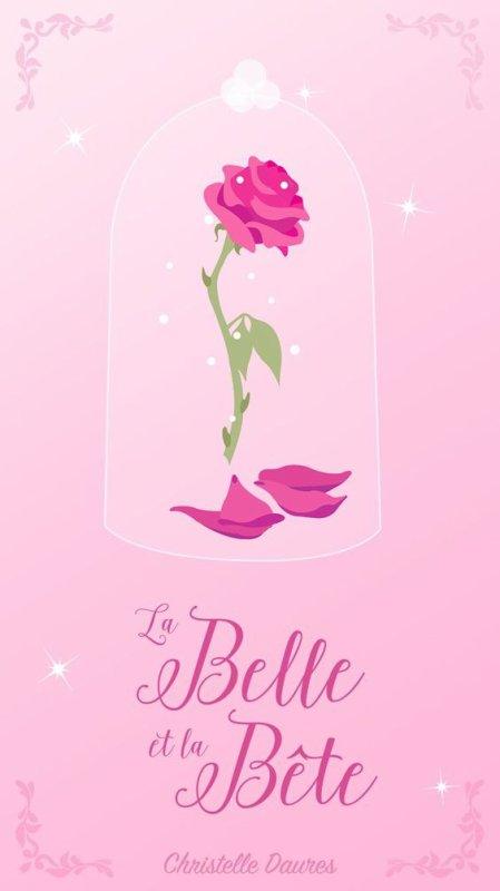 la rose de la belle et la bête
