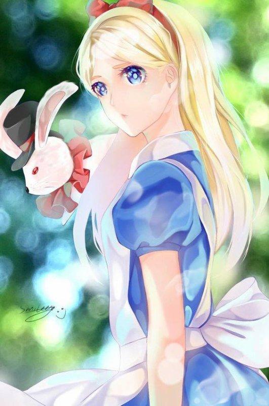 Alice au pays des merveille version manga